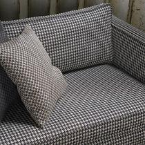 Tessuto da tappezzeria / a motivi / in cotone / in lino