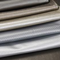 Tessuto da tappezzeria / a tinta unita / in cotone / in poliuretano