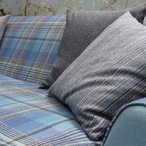 Tessuto da tappezzeria / per tende / a quadretti / in lana