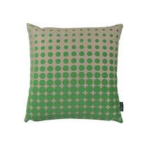 Cuscino quadrato / a motivi / in cotone / in lino