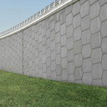 Muro di contenimento in calcestruzzo / modulare / prefabbricato