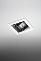 Downlight da incasso / LED / quadrato / in alluminio