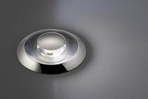 Luce da incasso a pavimento / LED / rotonda / da giardino