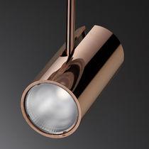 Faretti a binario LED / rotonda / in alluminio / in policarbonato