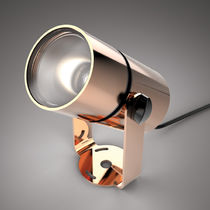 Faretto sporgente / da esterno / LED / rotondo