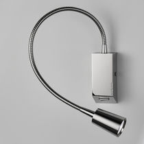 Applique moderna / in metallo / LED / orientabile