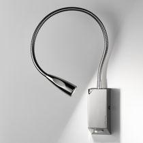 Applique moderna / in metallo / LED / rotonda