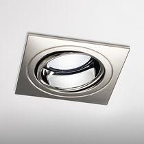 Downlight da incasso / LED / quadrato / in metallo