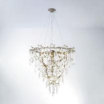 Lampadario classico / in vetro / in bronzo / alogeno
