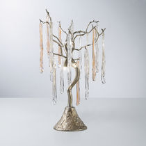 Lampada da tavolo / classica / in vetro / in bronzo