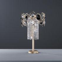 Lampada da tavolo / in stile / in metallo / in cristallo
