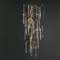 Applique classica / in bronzo / in vetro / alogena