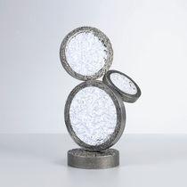 Lampada da tavolo / moderna / in vetro / in bronzo