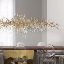 Lampada a sospensione / design originale / in bronzo / in vetro