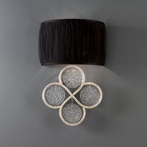 Applique moderna / in bronzo / in vetro / in tessuto