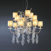 Lampadario classico / in vetro / in bronzo / in tessuto