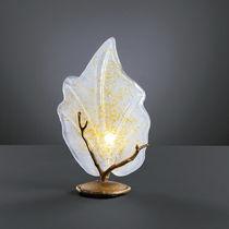 Lampada da tavolo / classica / in bronzo / in vetro
