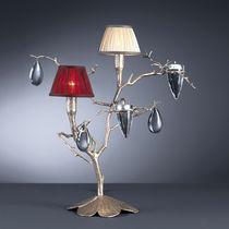 Lampada da tavolo / classica / in bronzo / in cristallo