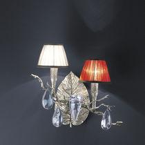 Applique classica / in bronzo / in cristallo / in tessuto
