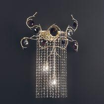 Applique in stile / in bronzo / in cristallo / alogena