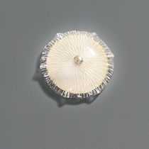 Applique moderna / in bronzo / in vetro di Murano / LED