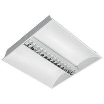 Luce da incasso a soffitto / fluorescente / quadrata / rettangolare
