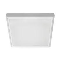 Luce LED / quadrata / rettangolare / in lamiera d'acciaio