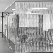 Pellicola decorativa adesiva / effetto vetro smerigliato / ad alta resistenza / in PVC