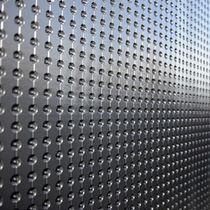 Membrana impermeabilizzante in polietilene ad alta densità HDPE / per muro / in rotolo / drenaggio della fondazione
