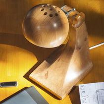 Lampada da tavolo / moderna / in legno / da interno