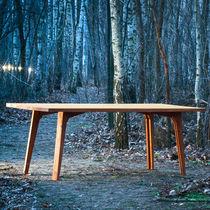 Tavolo moderno / in legno / rettangolare / pieghevole