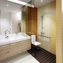 Piastrella da esterno / da bagno / da parete / per pavimento
