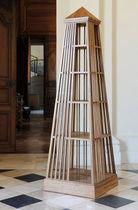Libreria design originale / in teak / in legno con vernice di protezione