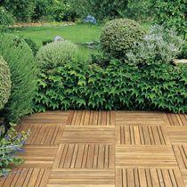 Grigliato in legno / per pavimento esterno
