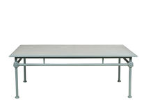 Tavolino basso classico / rettangolare / da giardino