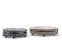 Ottomano moderno / in tessuto / da interno / di Rodolfo Dordoni