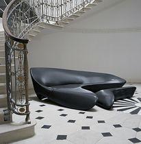 Divano d'angolo / design organico / in tessuto / di Zaha Hadid