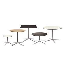 Tavolo da bistrot moderno / in HPL / in alluminio / rotondo