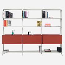 Libreria modulare / ad angolo / moderna / in MDF laccato