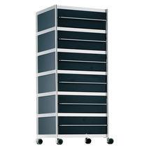 Cassettiera per ufficio in metallo / 3 cassetti / 5 cassetti / design originale