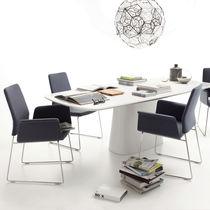 Sedia da ufficio moderna / con braccioli / girevole / regolabile
