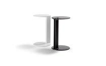 Tavolo d'appoggio moderno / in metallo laccato / rettangolare