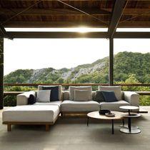 Divano modulare / d'angolo / moderno / da giardino
