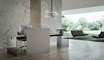 Banco reception in metallo laccato / in vetro