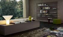Libreria a muro / moderna / per ufficio / in legno