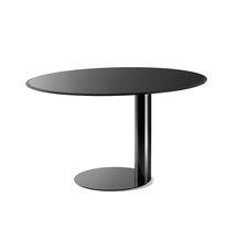Tavolo moderno / in metallo / rotondo