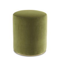Pouf moderno / in velluto