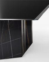 Tavolo da riunione moderno / in metallo / in marmo / in cristallo