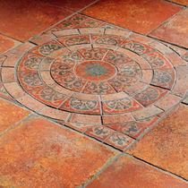 Piastrella da interno / da pavimento / in gres porcellanato / a motivi