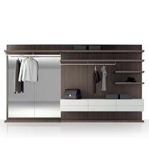 Cabina armadio ad angolo / da parete / modulare / moderna